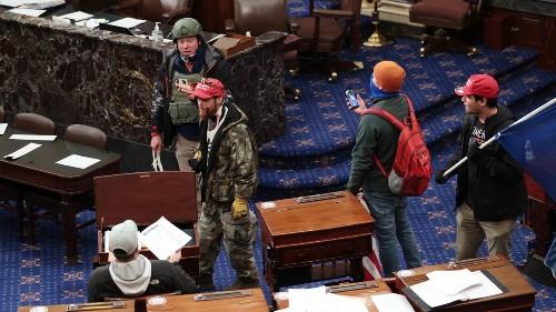 Judge Releases Larry Brock—Seen Carrying Zip-Ties In Senate—Despite FBI Warning He Could Commit More Violence