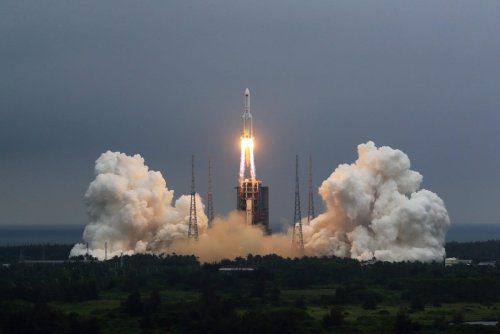 That Massive Chinese Rocket Just Fell To Earth