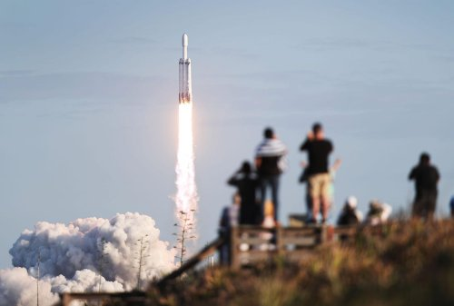 SpaceX Will Launch Extraordinary Mission To The 'Veiny Eyeball' Moon On A $178 Million Falcon Heavy Rocket, Says NASA