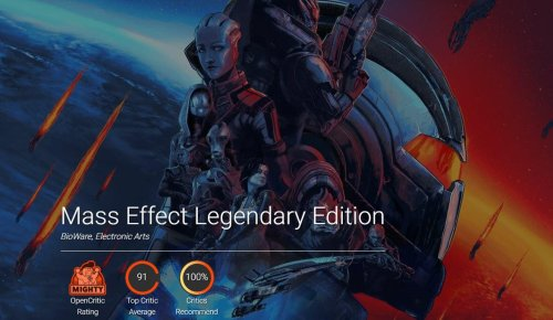 'Mass Effect: Legendary Edition' Is Currently The Best-Reviewed Game Of The Year