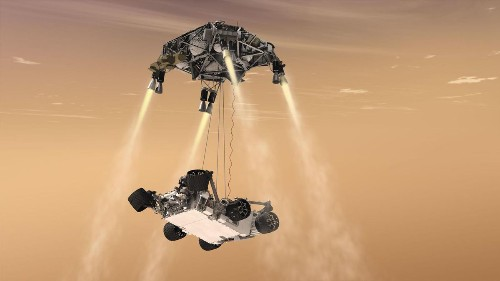 Mic Drop: Mars Rover Will Record Lasers, Landing And Otherworldly Sounds