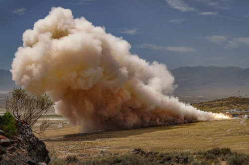 Epic Rocket Motor Test Prepares For Private Moon Landing In 2021