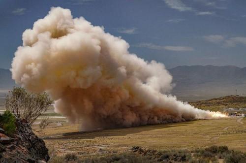 Epic Rocket Motor Test Prepares For Private Moon Landing In 2021