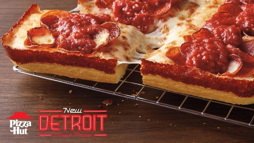 Pizza Hut Jumps On The 'Fastest-Growing Trend In Pizza' With New Detroit-Style Offerings