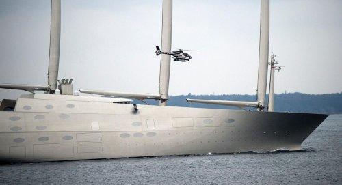 Superyacht Builder Of Sailing Yacht A Files For Bankruptcy