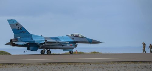 The U.S. Air Force Has A Base Right Next To Russia. It Just Sent F-16s To Visit.