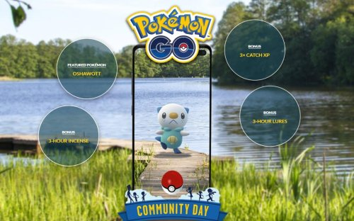 'Pokemon GO' Oshawott Community Day: Date, Times, Moves, Research And Shiny
