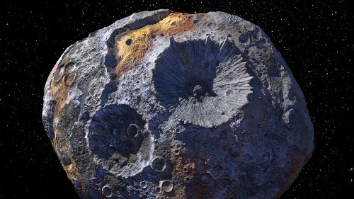 NASA Teases 'Psyche,' A Robot To Explore An Asteroid Worth More Than Our Global Economy