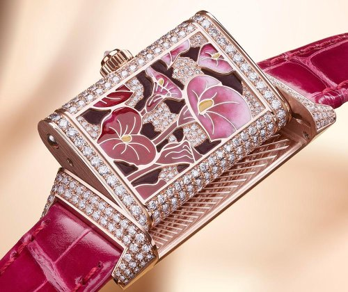 Jaeger-LeCoultre Celebrates Reverso's 90th Anniversary With Flowering Masterpieces