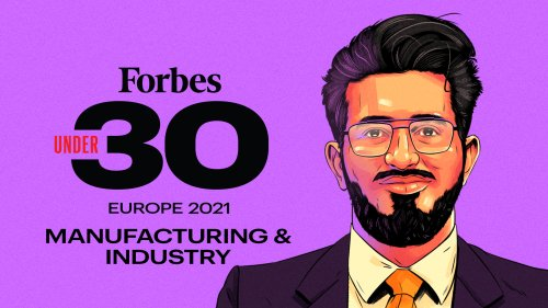 Forbes 30 Under 30 Europe 2021: Manufacturing & Industry
