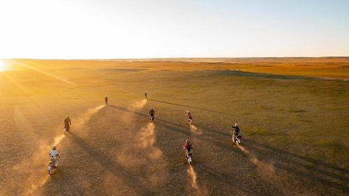 How Does A 9-Day Motorcycle Journey Across Mongolia To Deliver A Bike To A Park Ranger Sound?