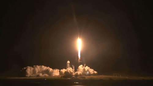 SpaceX Launches Second Crewed Mission For NASA, Its First 'Operational' Flight To The ISS