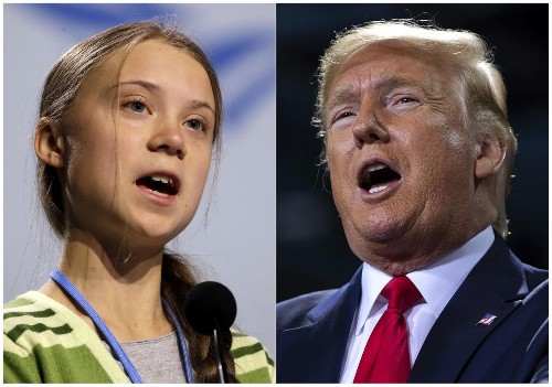Greta Thunberg Trolls Trump On Twitter, For The Last Time