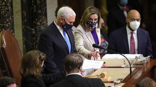 Congress Certifies Biden's Victory After Pro-Trump Rioters Storm U.S. Capitol