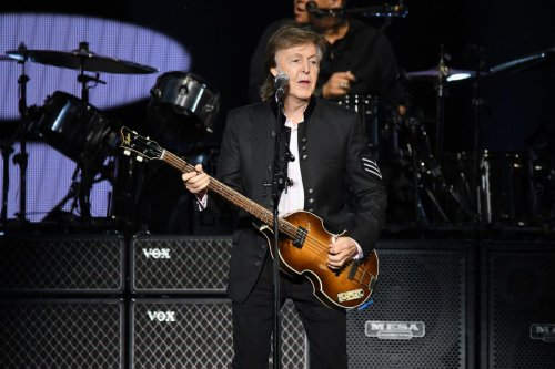 Paul McCartney Celebrated On New British Postage Stamps