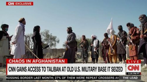 Taliban Tells CNN's Clarissa Ward 'Islamic Law Will Come Not Just To Afghanistan, But All Over The World'