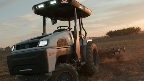 Driverless Battery Electric Tractors Coming Via Company Led By Tesla Vet