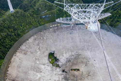 Rebuild The Arecibo Radio Telescope To Inspire Students