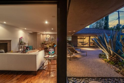 Hip Midcentury Home By Harold B. Zook Hits The Market In Los Angeles