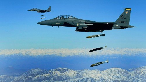 How Can The U.S. Provide 'Over-The-Horizon' Air Support For Afghanistan?