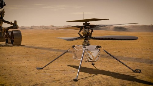 $3 Million Martian 'Drone With Claws' Set For Red Planet As NASA Prepares To Make Aviation History