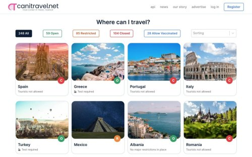 This New Covid-19 Travel Website Tells You Everything You Need To Know About Traveling Right Now