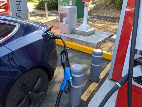 You Want Tesla's CHAdeMO Adapter For EV Roadtrips — Form A Club