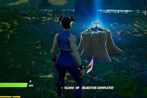 'Fortnite' Dead Drop Locations: Where To Interact With A Dead Drop In Weeping Woods