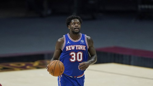 New York Knicks' Julius Randle Making The Most Of His Playmaking Opportunities