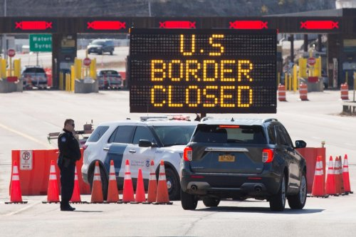 Canada Border Stays Closed Until U.S. Manages To Control Covid-19, Says Trudeau