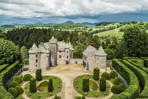 Medieval Chateau With 'Remarkable' Gardens Seeks $3 Million In Central France