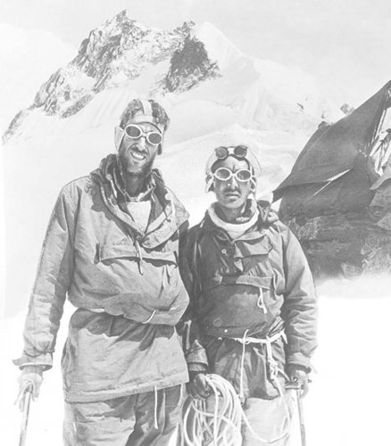 Ascending Everest
