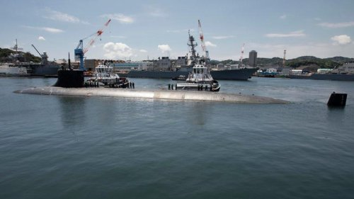 All Three Of The U.S. Navy's Most Powerful Submarines Were Underway At The Same Time, In The Same Place