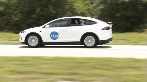 Why Astronauts on SpaceX Rockets Ride A Tesla To The Launch Pad