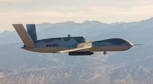 U.S. Stealth Drone Gets Sensor Pod To 'See First, Strike First' In Air-To-Air Combat