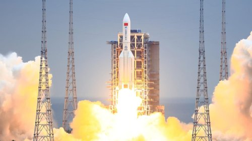 U.S.-China Space Race Takes Off As Beijing Announces Crewed Missions To Mars