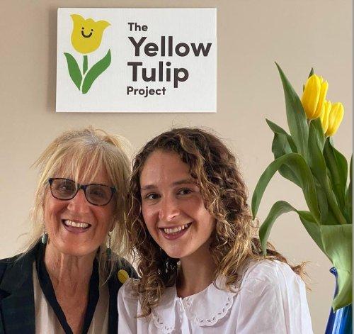 Smashing Mental Health Stigma One Yellow Tulip At A Time
