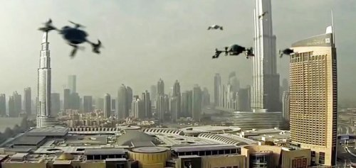Dubai Is Using Laser Drones To Shock Rainwater Out Of The Sky