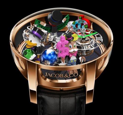 Jacob & Co. dévoile sa nouvelle montre en collaboration avec Alec Monopoly   Forbes France