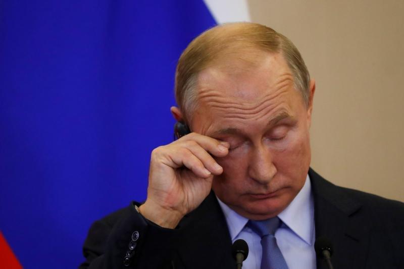 Russian Hacking  Putin James Town - cover