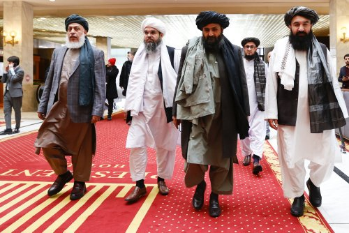 China and the Taliban Begin Their Romance