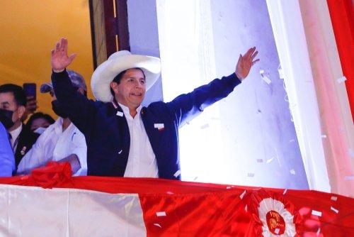 A Divided Peru Inaugurates a New President