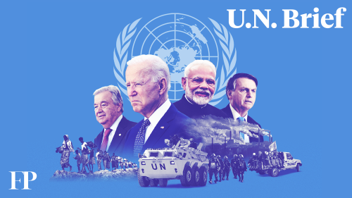 The Taliban Want a Seat at the U.N.