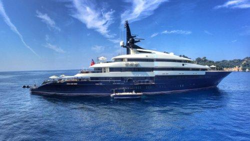Steven Spielberg's 282-Foot Superyacht Is On Sale For $160 Million