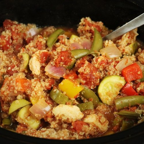 Crockpot Crazy Cajun Chicken Dinner - Forkly
