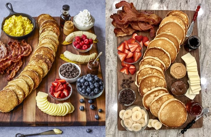 This Pancake Charcuterie Board Is The Next Trend You Seriously Need To Try - Forkly
