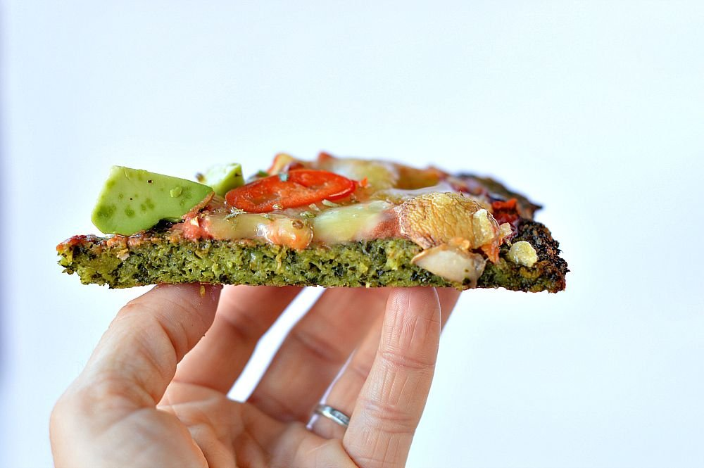 The Best Kale Pizza Crust - Forkly
