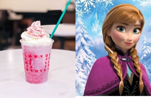 Starbucks Secret Menu: Frozen-Inspired Frappuccinos You Need To Try - Forkly