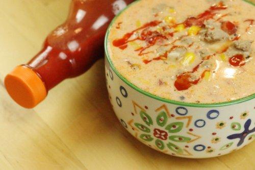 Crock Pot Buffalo Ranch Chicken Chili - Forkly