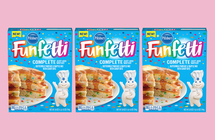 You Can Now Buy Pillsbury Funfetti Pancake & Waffle Mix - Forkly